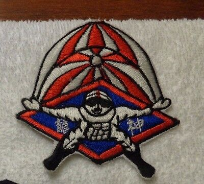 Taiwan , Free Fall Team Cloth Patch