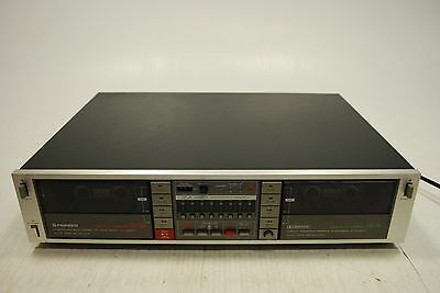Pioneer Stereo Double Cassette Deck CT-1050W
