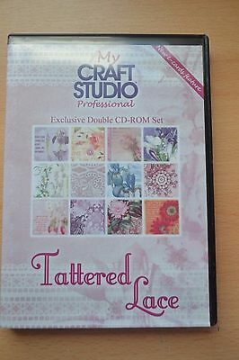 My Craft Studio (Mcs)- Tattered Lace Crafting Double Cd Rom