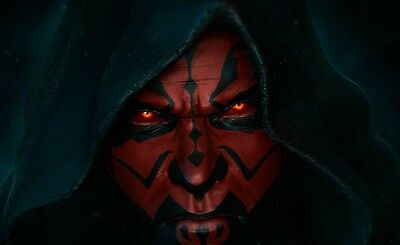 Star Wars Darth Maul Diamond Mosaic painting Kit 20x40cm like cross stitch