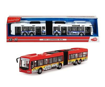 Spielbus City Express Bus | Dickie Toys 203748001 | Kinder Spielzeug Bus ab 3 J.