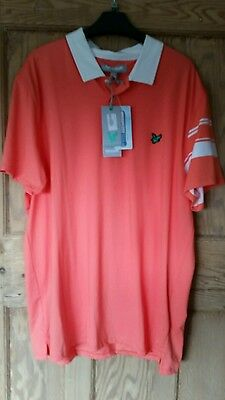 Lyle And Scott Golf Polo Shirt Size Xl