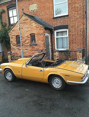 Triumph spitfire 1971 1300 fully restored May swap