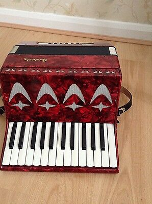 Vintage Galutta  Accordian with Case