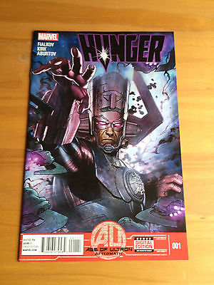 Hunger #1 (September 2013) - Includes unused Digital Copy code