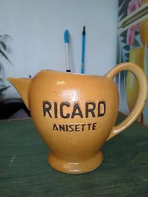 Pichet Cruche Ricard Anisette N°830  Ateliers De Ceramique Ricard Made In France