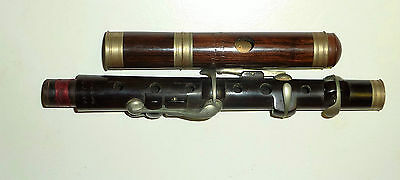 Beautiful antique 4 Keyed Improved London D Piccolo