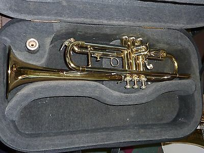 Blessing XL Trumpet with mouthpiece in case