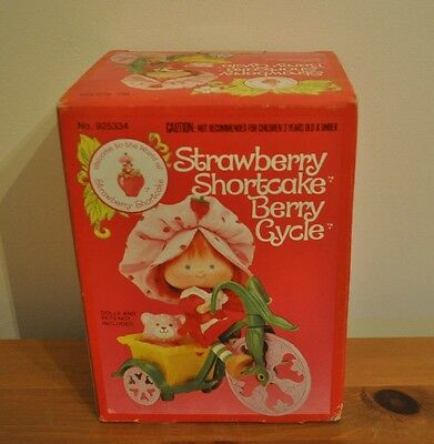 Boxed Strawberry Shortcake Cycle Sealed Unopened Box