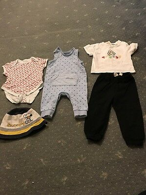 7x Baby Boy Clothes Age 3-6 Months