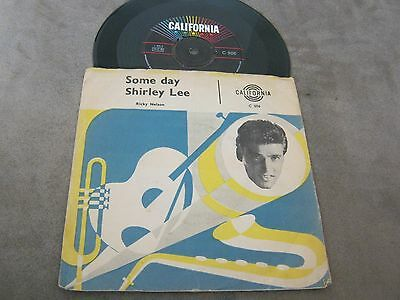 Ricky Nelson Some day/Shirley Lee DK