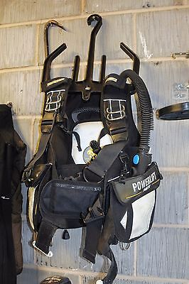 Poseidon Powerlift Scuba Diving Bcd, Size Medium