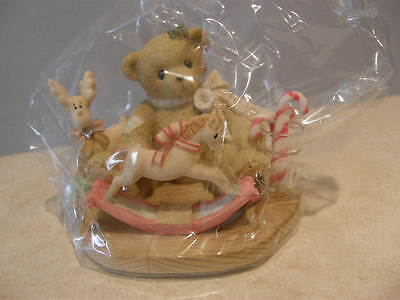 Cherished Teddies JADYNN 4002845 LOADS OF HOLIDAY WISHES FOR YOU    NEW
