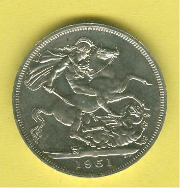 1951 Festival of Britain Crown in boxed