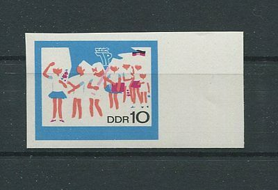 DDR PH 1432 PIONIERE 1968 PHASENDRUCK UNGEZÄHNT SCOUTS PROOF IMPERF d844