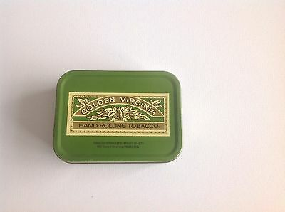 Vintage Golden Virginia W.d. & H.o. Wills Bristol And London Tobacco Tin