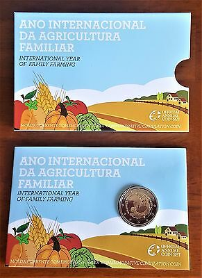 Superbe coincard 2 euro commémo BE/PROOF Portugal 2014 Agriculture _Neuf