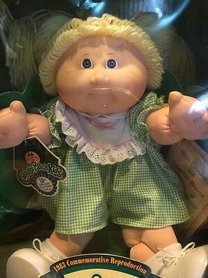 Cabbage Patch Doll 1983 Commemorative Reproduction 15Th Anniversary Edition