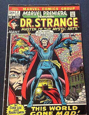 Marvel Premiere featuring Dr. Strange  #3 (July 1972)  Dr. Strange Begins