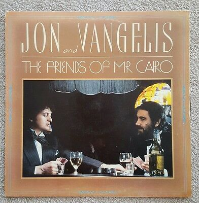 Jon And Vangelis ‎– The Friends Of Mr Cairo, UK, Vinyl, LP