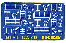 £250 IKEA gift card for sale - no expiry date