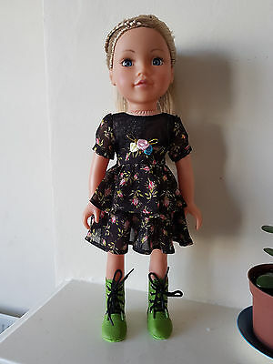 Dress and shoes for Design a Friend 18 in.dolls