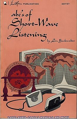 Sams ABCs OF SHORT-WAVE LISTENING Len Buckwalter 1972