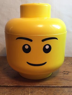 Lego Head Storage Tub/ Container