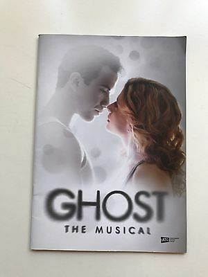 Ghost the Musical Programme - Piccadilly Theatre - West End London