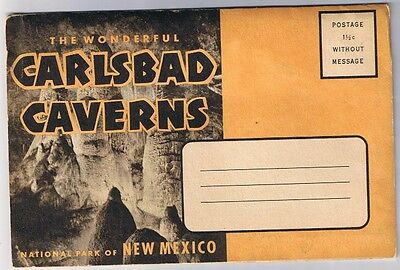 New Mexico - Carlsbad Cavern National Park - Postcard Folder