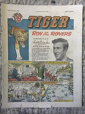 Tiger, featuring Roy of the Rovers. June 4th 1960
