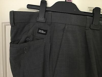 Mens Oscar Jacobson Grey Golf Trousers 32 waist 31 Leg