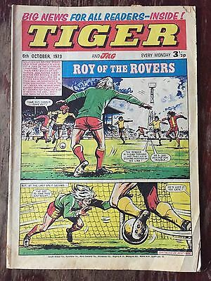 Tiger & Jag, featuring Roy of the Rovers. 6th October 1973