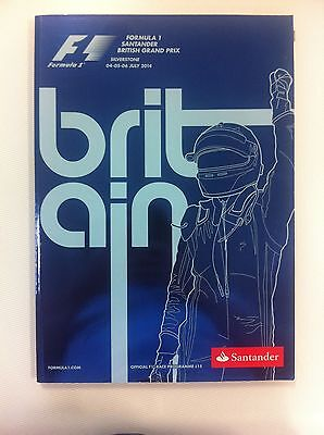 Formula 1 British Grand Prix 2014 Silverstone - Official F1 Race Programme
