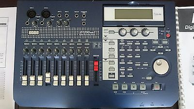 Korg D1200 Mk2 Digital Recorder with PSU + Manual FREE UK DELIVERY