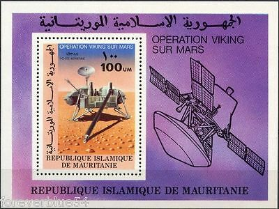 Mauritania 1977 SG MS 535 (Sc C176) MNH - Space Viking Mars Airmail
