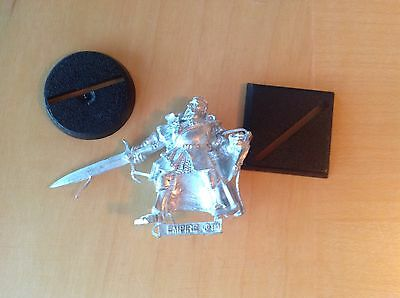Games Workshop Warhammer Empire Captain With Sword And Shield