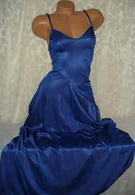 Blue Undercover Wear Night Gown Size Smal Bust 30-32l Vintage Lingerie