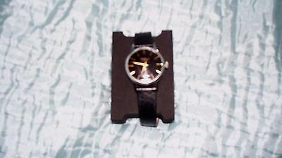 JW Benson - Black and Gold Interface Vintage Watch