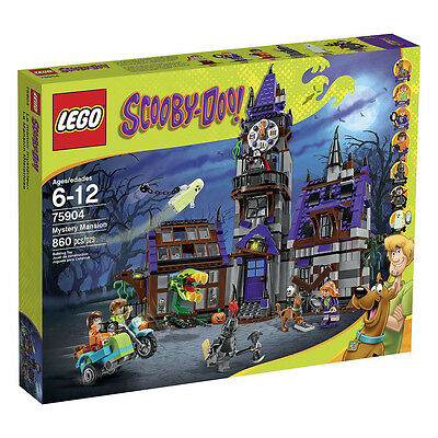 LEGO Scooby-Doo Mystery Mansion 75904 Brand new and sealed