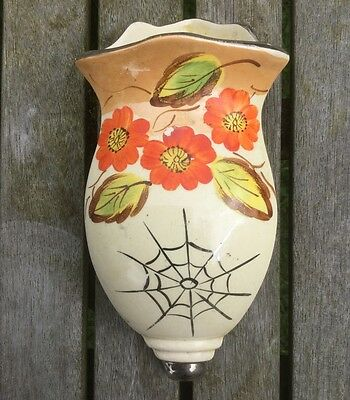 Art Deco Arthur Wood 'Dinky' Corner Hanging Wall Pocket / Vase