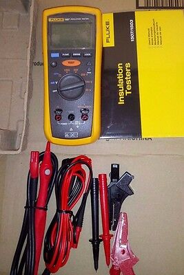 Fluke 1507 Insulation Resistance Tester with remote test probe Excellent