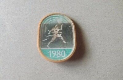 Moscow Summer Olympic Games 1980 3D Pin Badge From The Soviet Union