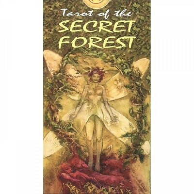 Tarot of the Secret Forest 78 Fortune Telling New Sealed Cards Deck ANKH