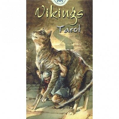 Vikings Tarot 78 Fortune Telling New Sealed Cards Deck ANKH