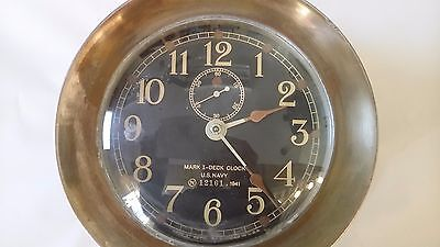 1941 Seth Thomas U.S. Navy Mark I Clock