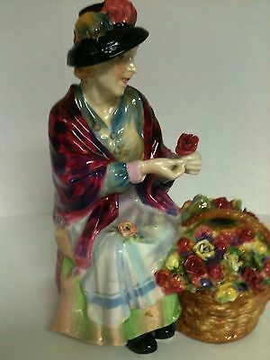 RARE ROYAL DOULTON HN1457 figure  All-A-Blooming figurine