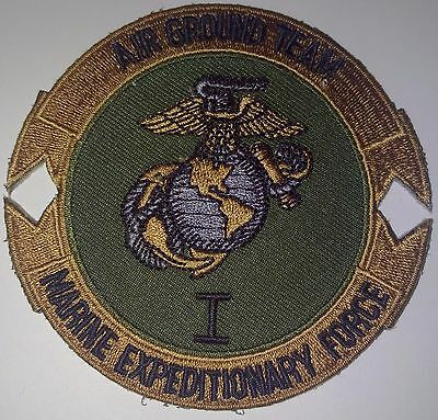 Patch Air Ground Team Marine Expeditionary Force