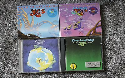 Yes CD Albums x 4 - Personal Collection / Job Lot / Bundle