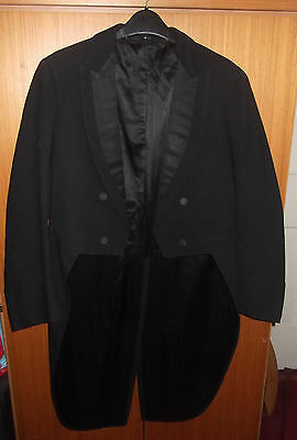 Quality, Hand-Tailored Tailcoat - V. Small Adult/teenager - Black - Heavy Damage